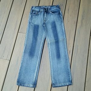 Ring of Fire Straight-fit Blue Jeans